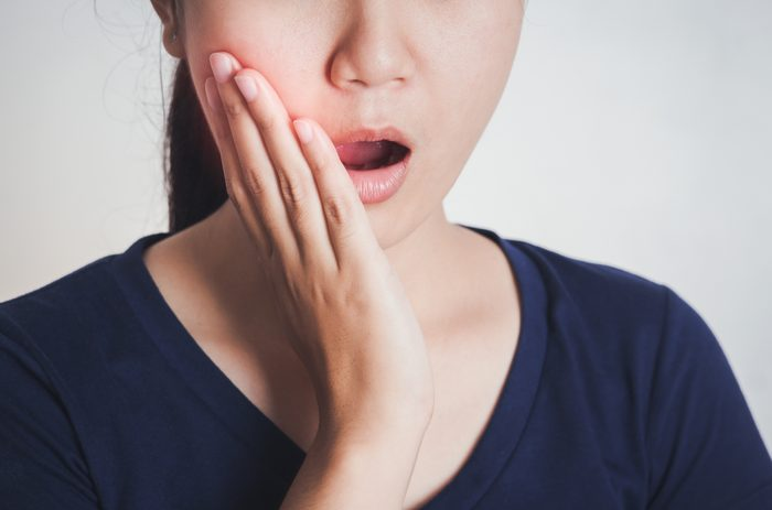 toothache jaw pain