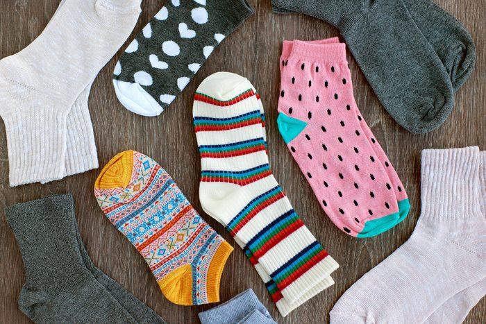 lots of different socks