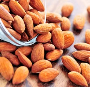 foods that protect arteries, almonds