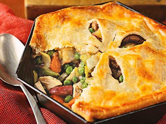Chicken Potpie with Vegetables Recipe
