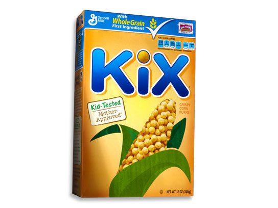 stop and drop breakfast foods kix