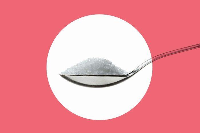 teaspoon of salt