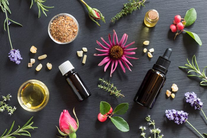 different scents for aromatherapy