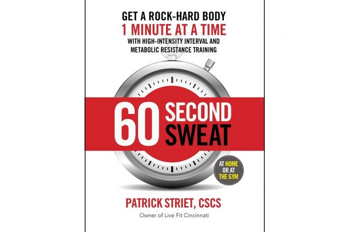 """Front cover of book """"60 Second Sweat"""""""
