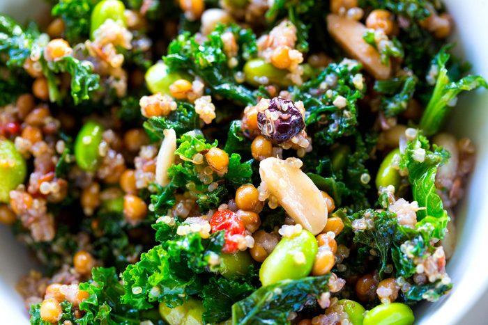 quinoa and grain bowl