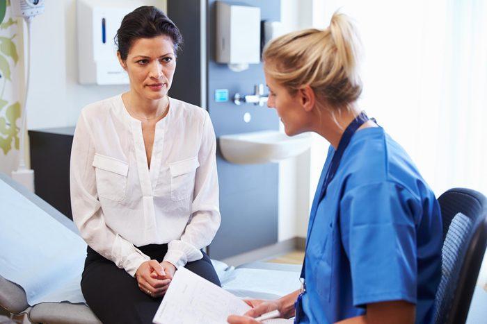 hispanic woman doctor hospital