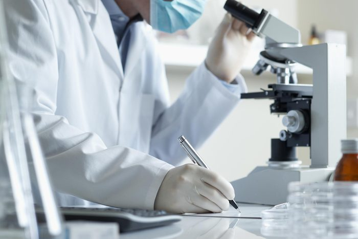 lab research medical scientist