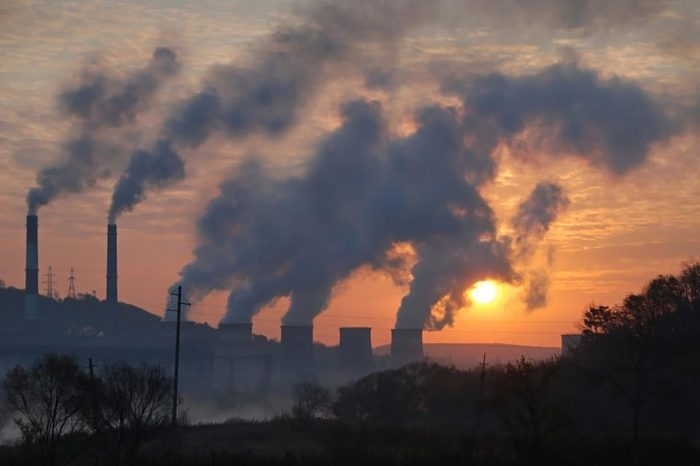 pollution from factory