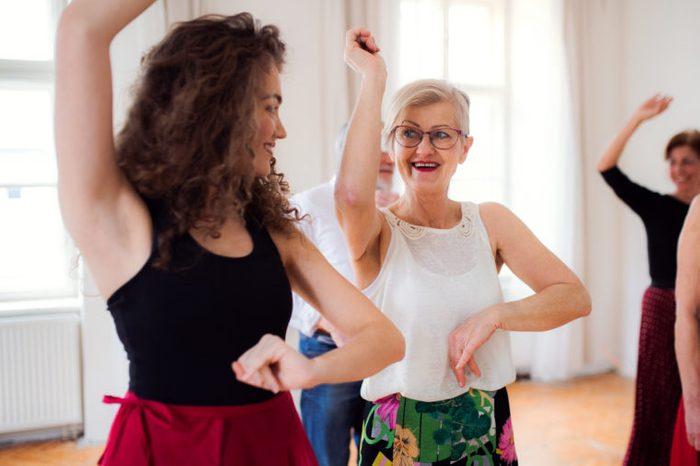 dance group lesson