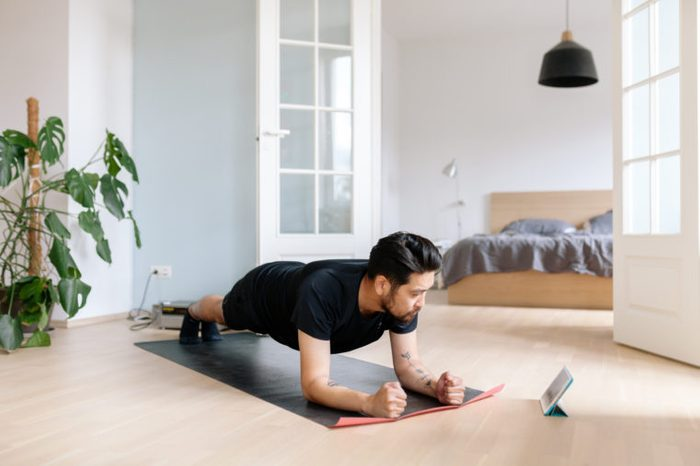 at home yoga workout