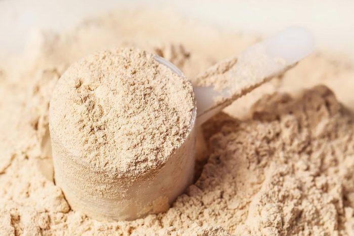 Protein powder.