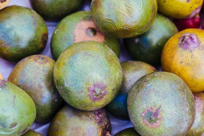 lucuma fruit full frame