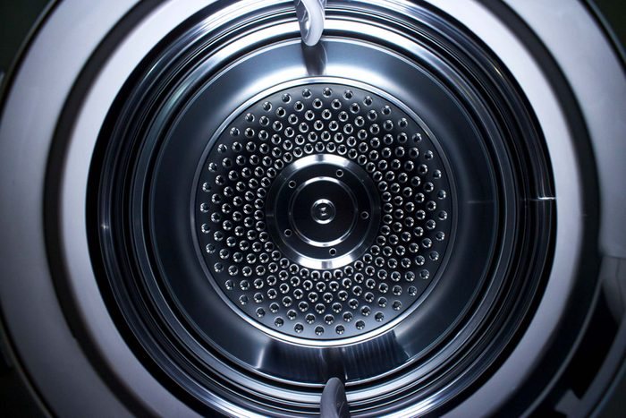 Inside of a drier