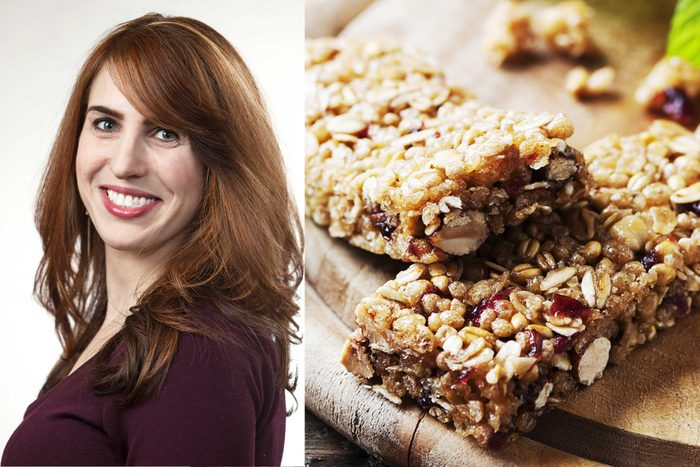 Amy Gorin and granola
