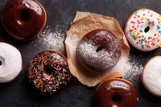 doughnuts unhealthy food sugar