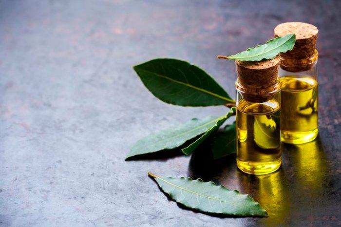 oil in pretty glass vials