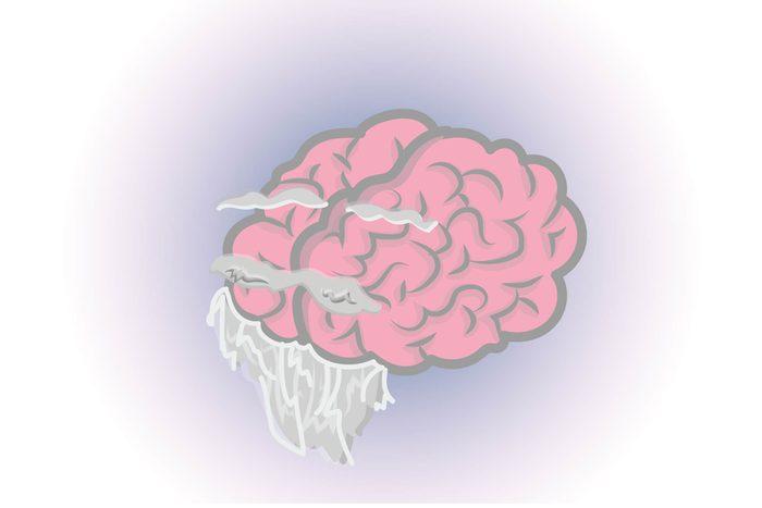 Graphic of human brain