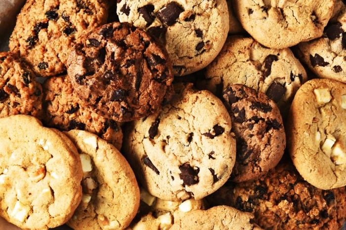 different types of cookies