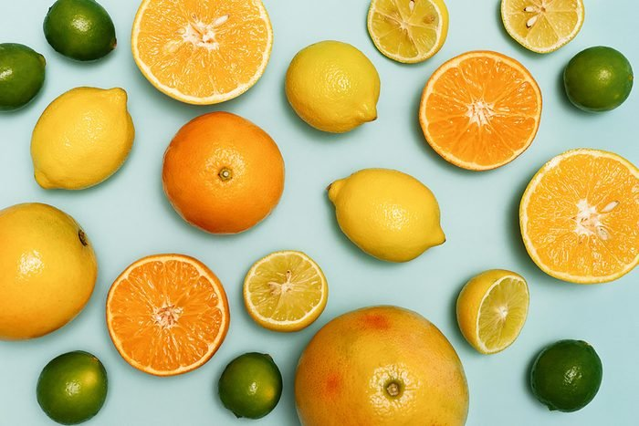 oranges and lemons and limes