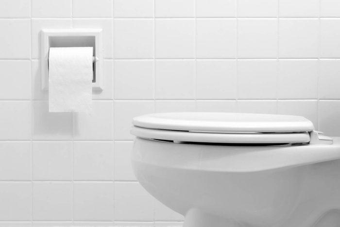 Toilet.