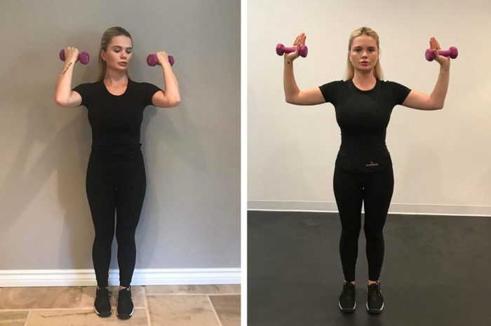 00-bicep curls-How to Lose Arm Fat-Courtesy Lagree Fitness Studio