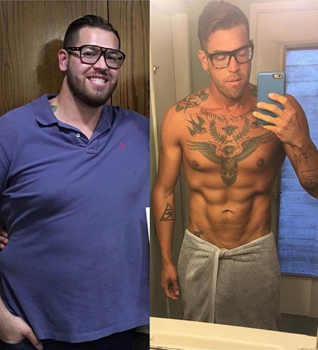 Adriel Vassani, before and after