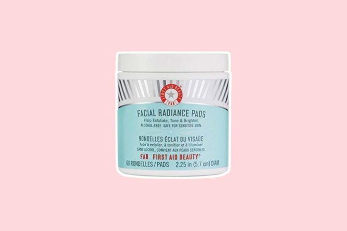 Facial Radiance Pads bottle