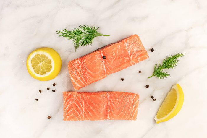 Salmon; countries with lowest heart disease