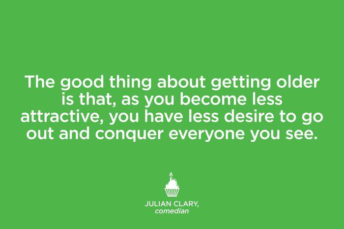 Comedian Julian Clary.
