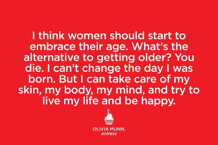 Actress Olivia Munn.