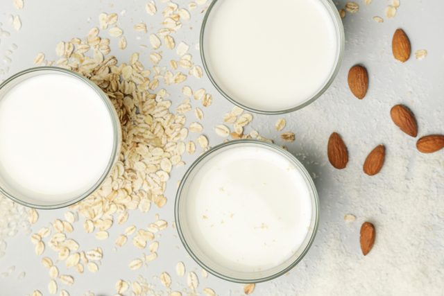 non dairy milks from above