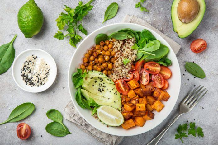 healthy vegan proteins