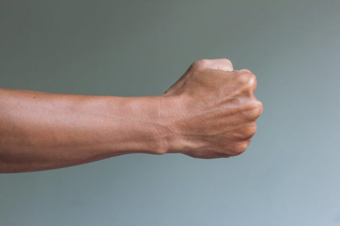 Arm and fist