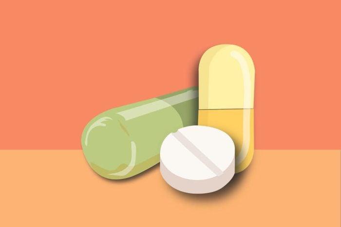 illustration of supplements