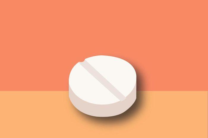 illustration of a huperzine supplement