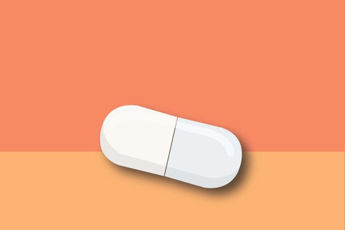 illustration of a carnitine supplement