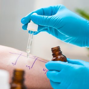 allergist doctor appointment testing