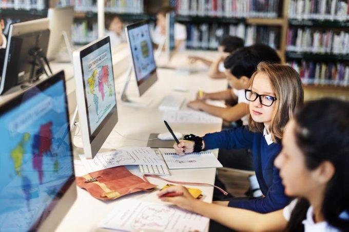 classroom students kids