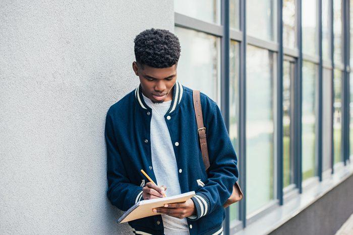 student teenager kid