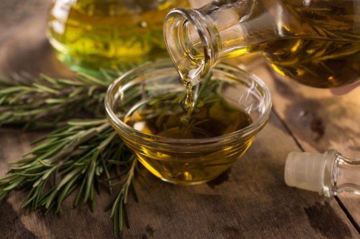Oils with herbs and spices