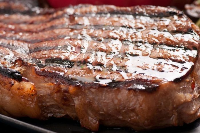 char grilled ribeye beef steak