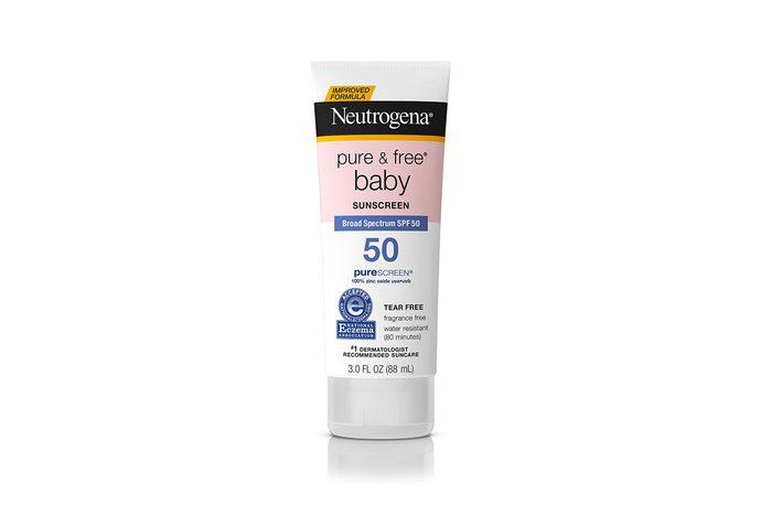 Neutrogena Pure & Free Baby Sunscreen