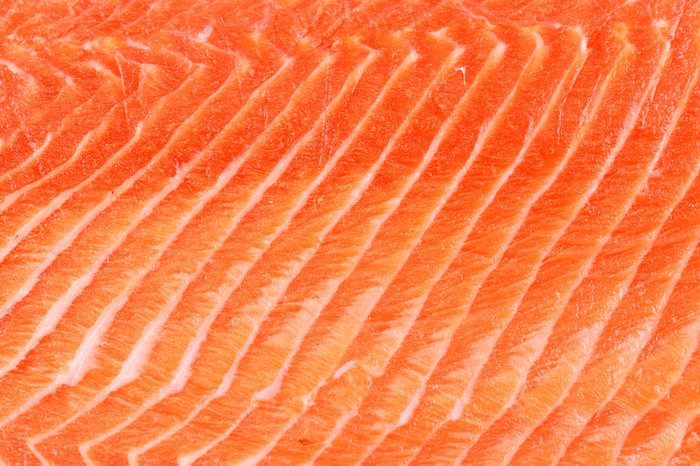 salmon fillet background