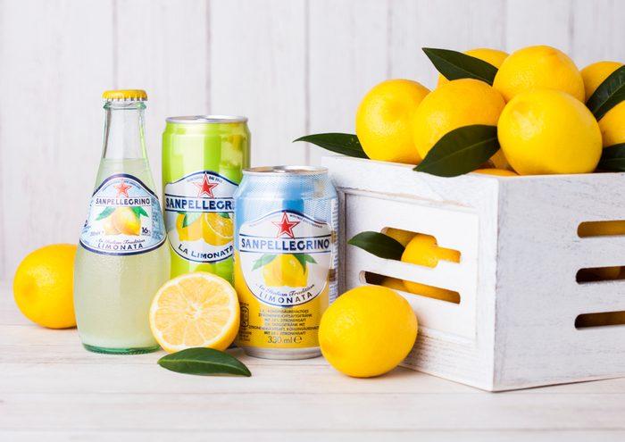 lemon San Pellegrino
