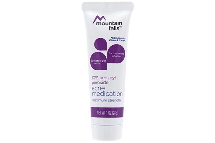 Mountain falls benzoyl peroxide solution.