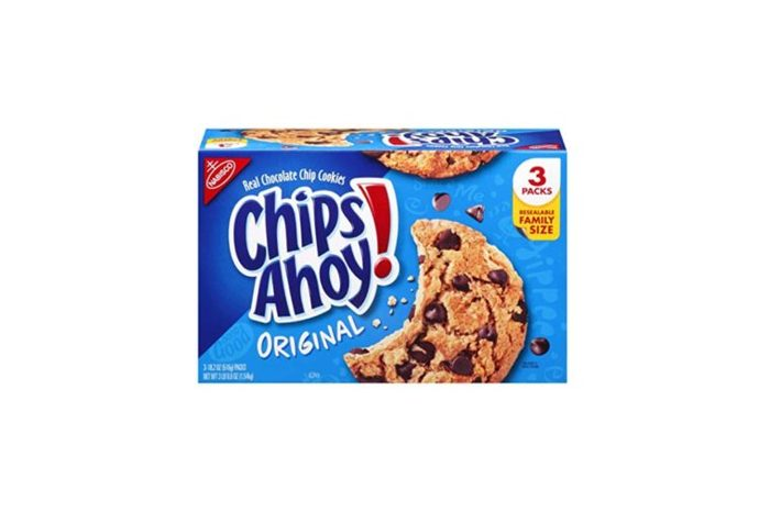 box of Chips Ahoy! chocolate chip cookies