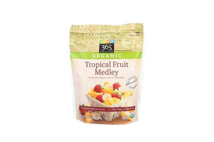 bag of frozen tropical fruit medley