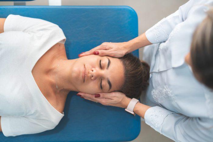 chiropractic neck manipulation adjustment