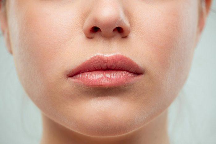 Woman's mouth