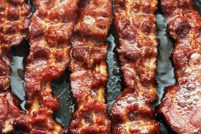 sizzling bacon